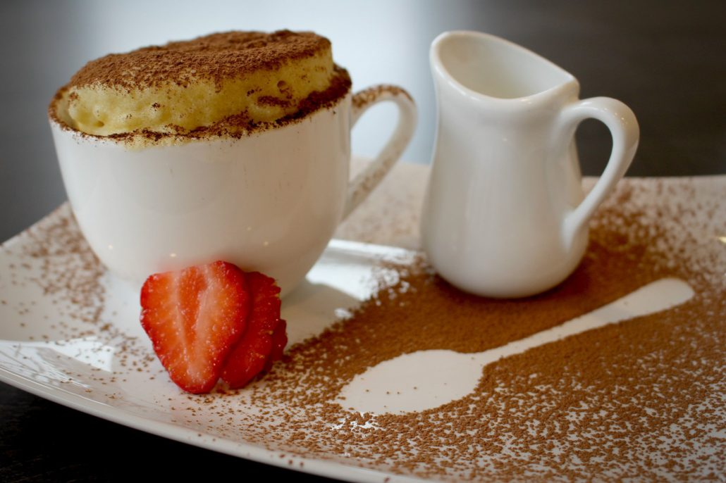 Dining at Parade House in Monmouth - Soufflé