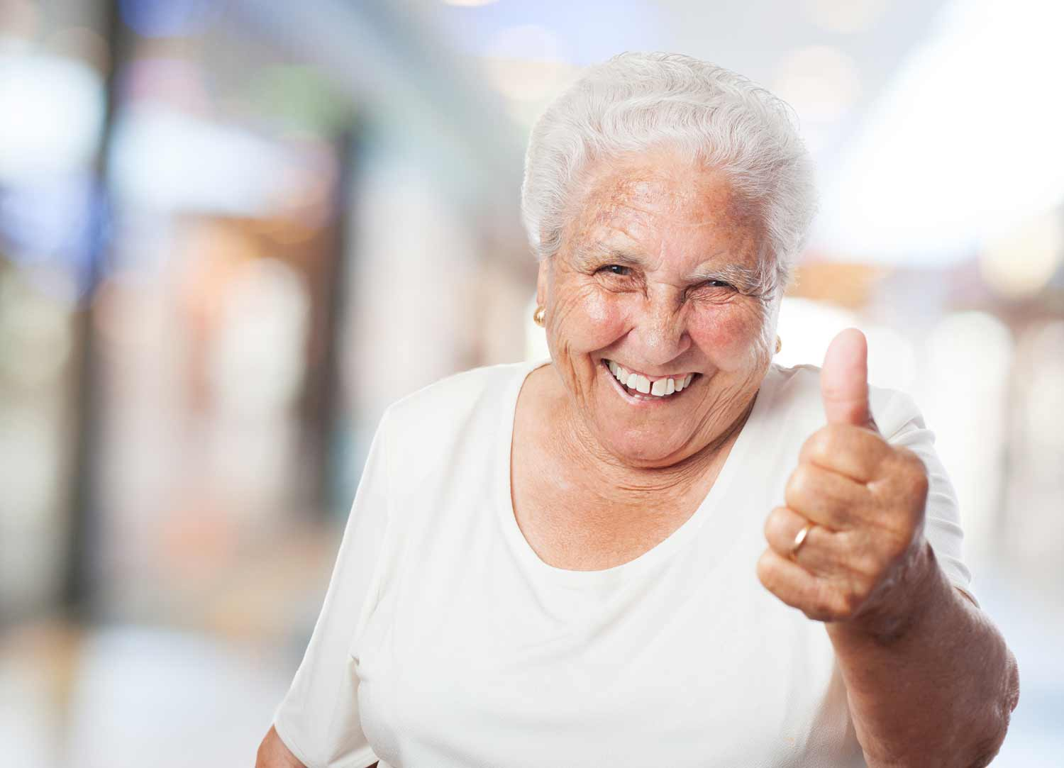 Parade House Activities - Thumbs-up for Parade House Residential Home, Monmouth
